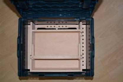 werkzeugeinsatz holzeinsatz f r bosch l boxx 374 neu ebay. Black Bedroom Furniture Sets. Home Design Ideas